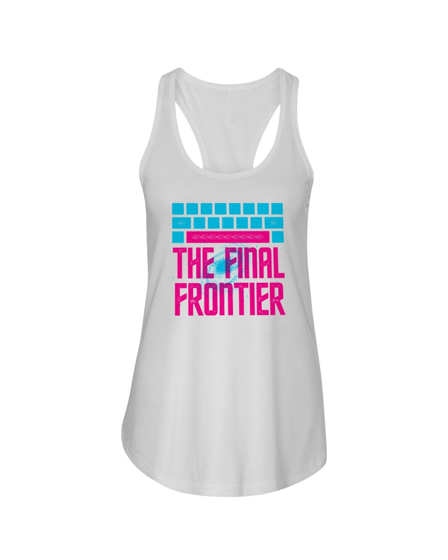 Space The Final Frontier Ladies Flowy Tank