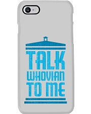 Talk Whovian To Me Phone Case thumbnail