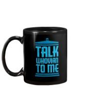 Talk Whovian To Me Mug back