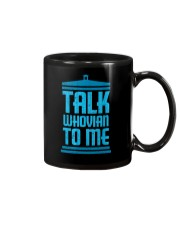 Talk Whovian To Me Mug thumbnail