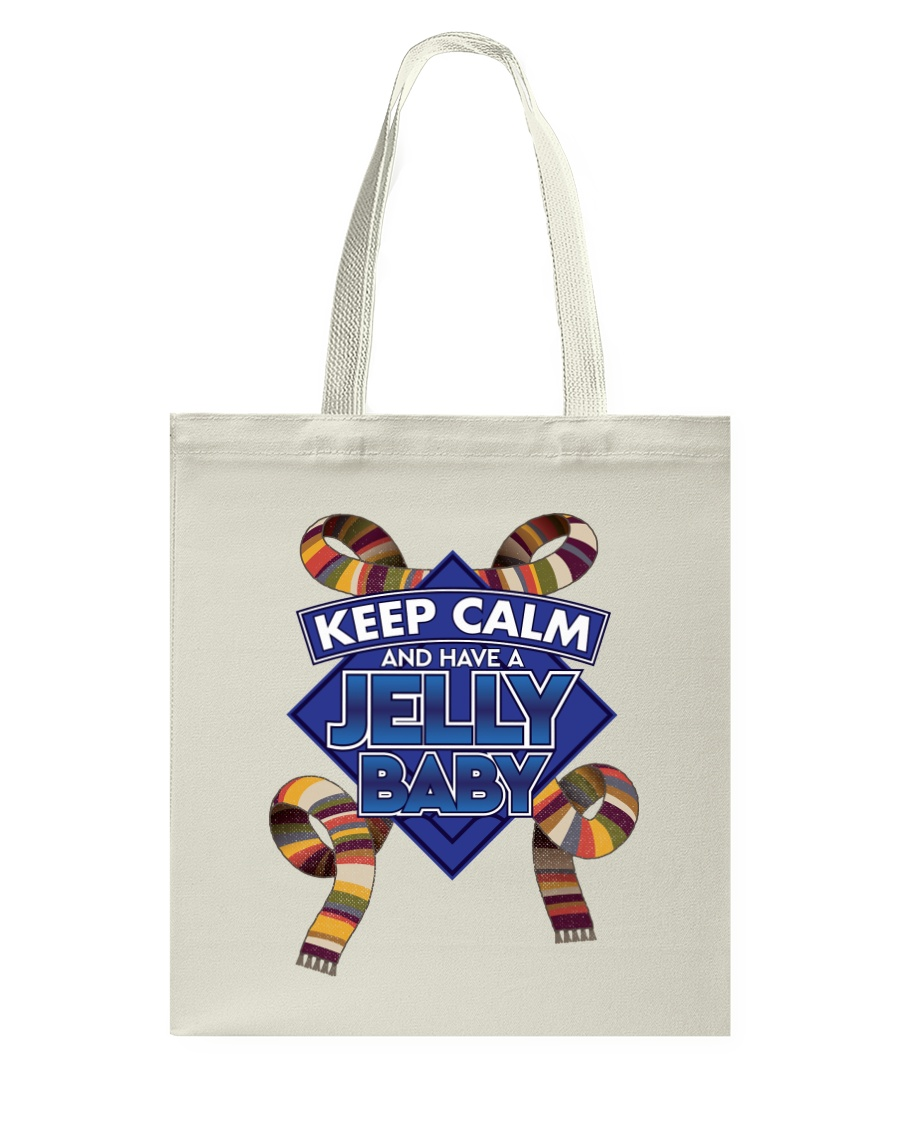 Keep Calm And Have A Jelly Baby Tote Bag