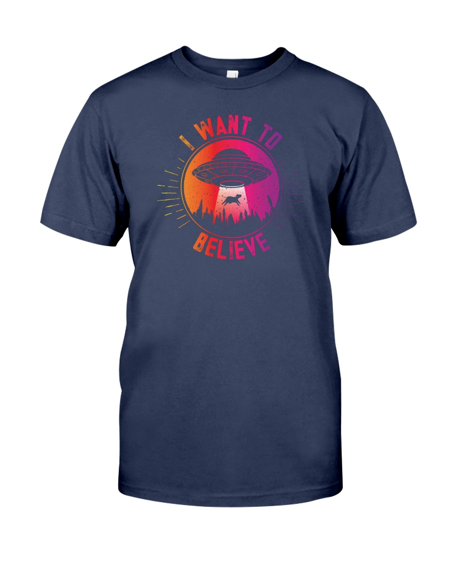 I Want To Believe Premium Fit Mens Tee