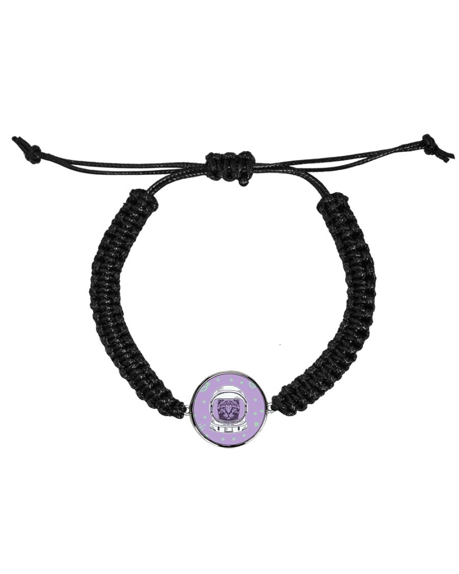 Catstronaut Cord Circle Bracelet