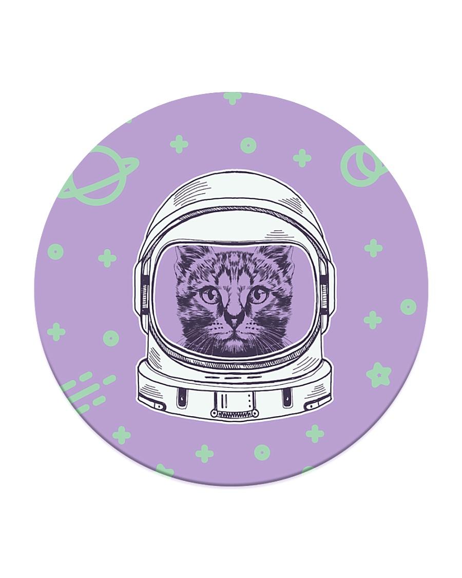 Catstronaut Circle Coaster