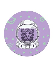 Catstronaut Circle Coaster tile