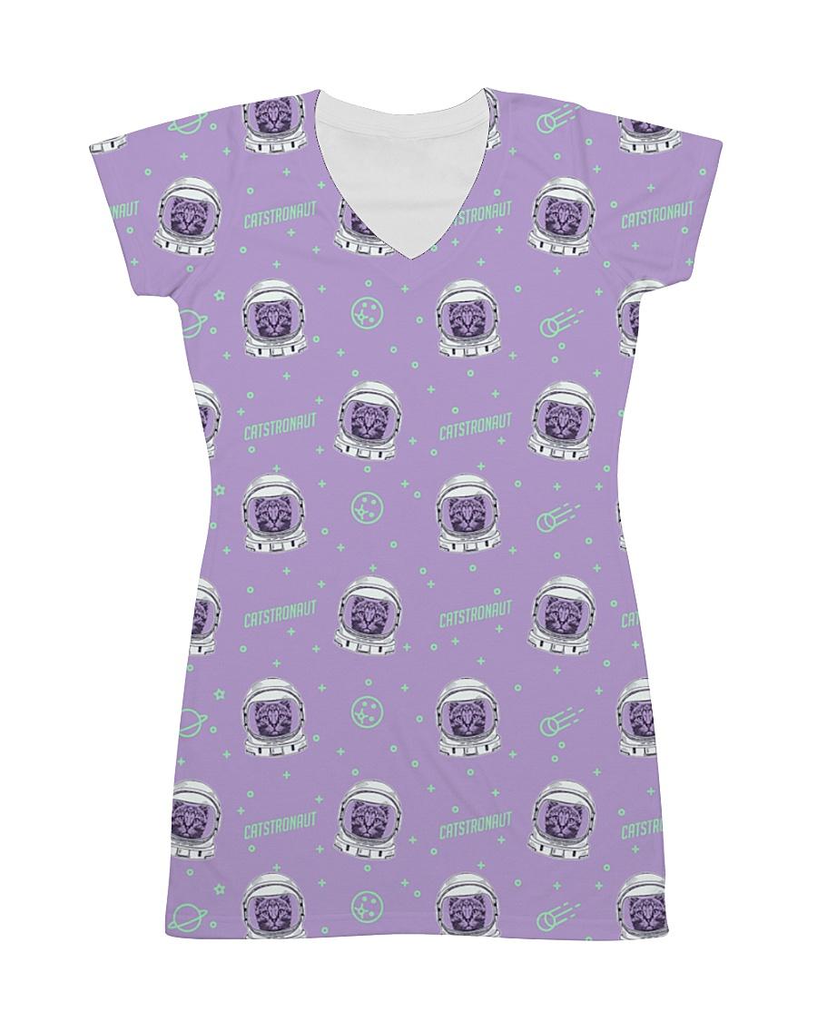 Catstronaut All-over Dress