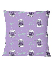 Catstronaut Square Pillowcase back