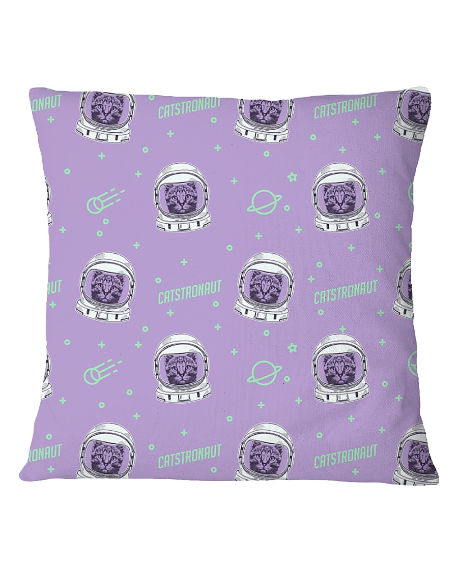 Catstronaut Square Pillowcase