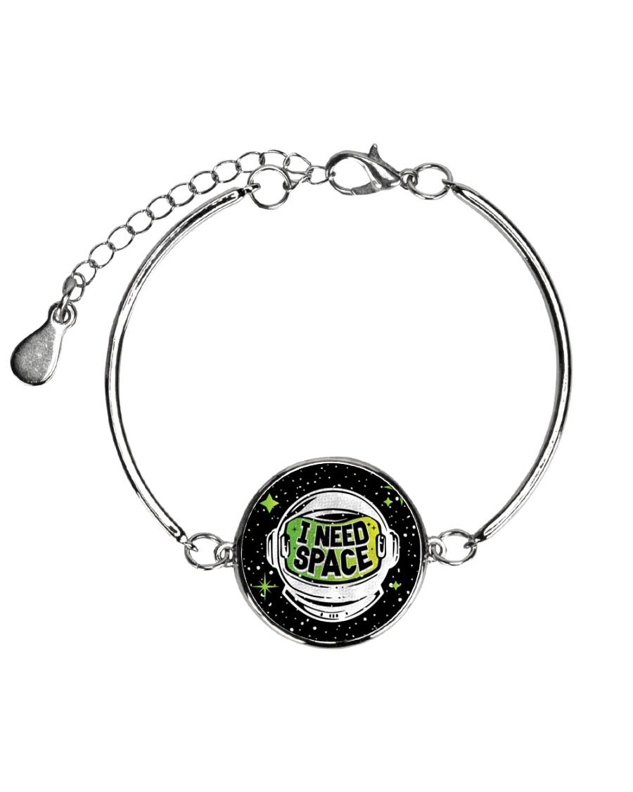I Need Space Metallic Circle Bracelet
