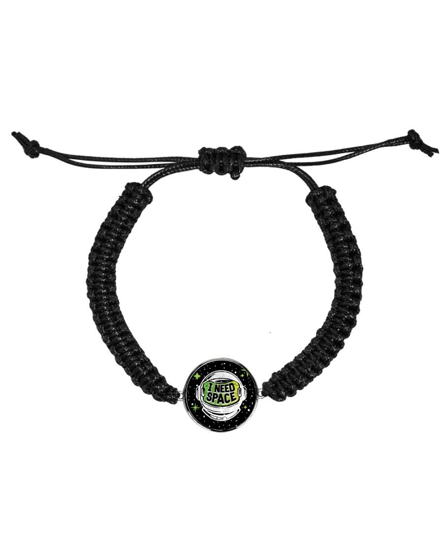 I Need Space Cord Circle Bracelet