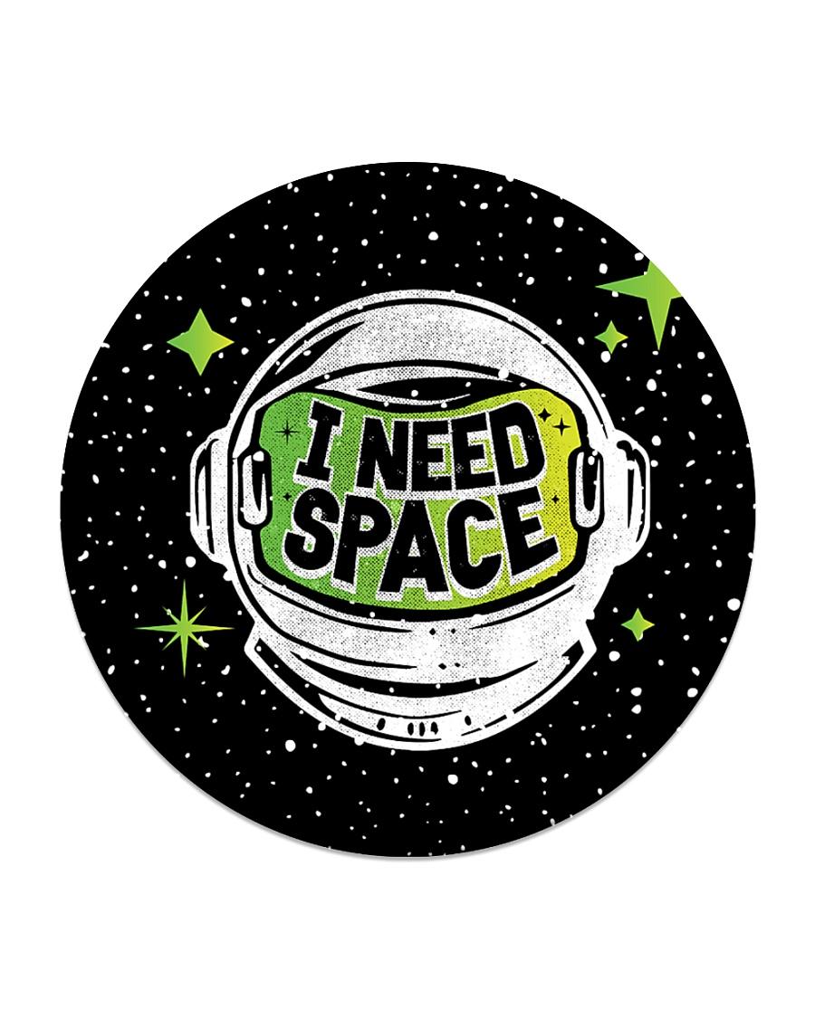 I Need Space Circle Coaster