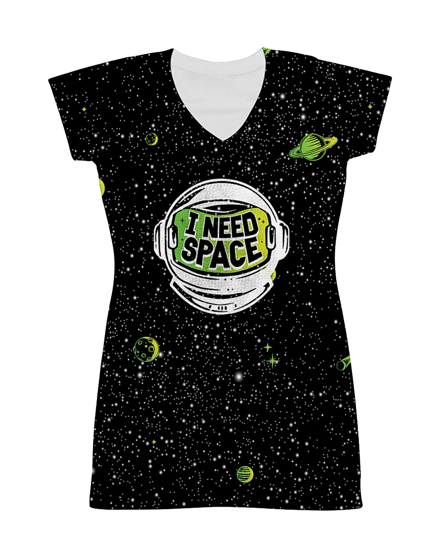 I Need Space All-over Dress