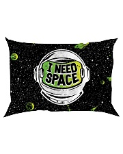 I Need Space Rectangular Pillowcase back