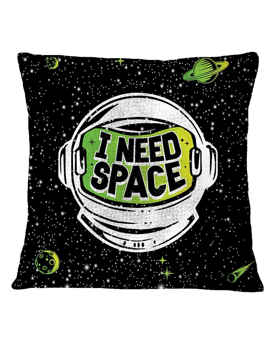 I Need Space Square Pillowcase