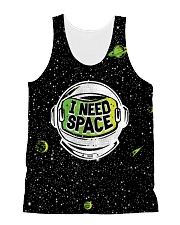 I Need Space All-Over Unisex Tank tile