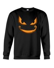 Dark Pumpkin Crewneck Sweatshirt thumbnail