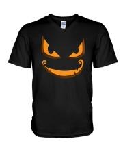 Dark Pumpkin V-Neck T-Shirt thumbnail