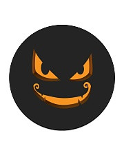 Dark Pumpkin Circle Coaster thumbnail