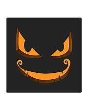 Dark Pumpkin Square Coaster thumbnail