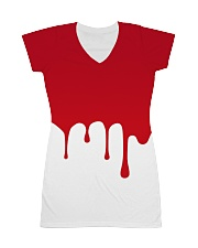 Dude I'm Bleeding All-over Dress thumbnail