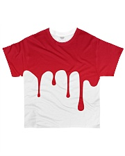 Dude I'm Bleeding All-over T-Shirt front