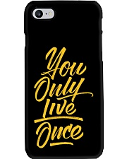 You Only Live Once Phone Case thumbnail