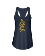 You Only Live Once Ladies Flowy Tank thumbnail