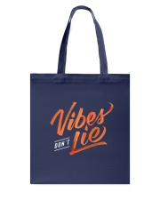 Vibes Don't Lie Tote Bag thumbnail