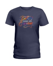 Better Things Are Coming  Ladies T-Shirt thumbnail