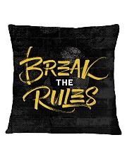 Break The Rules Square Pillowcase thumbnail