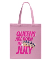 Queens Are Born in July Tote Bag thumbnail