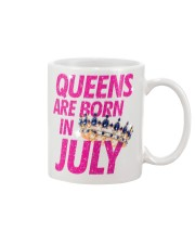 Queens Are Born in July Mug thumbnail
