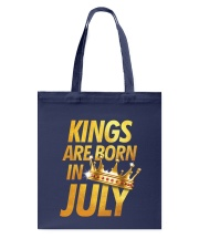 Kings Are Born in July Tote Bag thumbnail