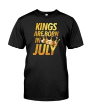 Kings Are Born in July Classic T-Shirt thumbnail
