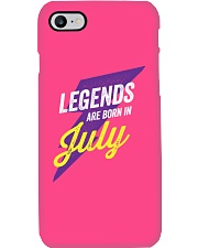 Legends Are Born in July Phone Case thumbnail