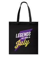 Legends Are Born in July Tote Bag thumbnail