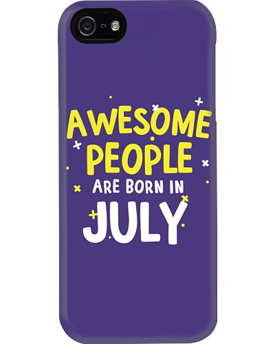 Awesome People Are Born In July