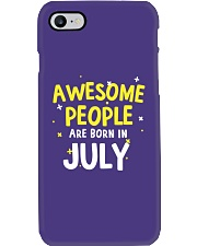 Awesome People Are Born In July Phone Case thumbnail