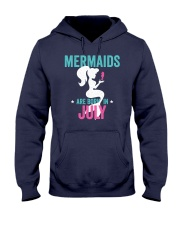 Mermaids Are Born in July Hooded Sweatshirt tile