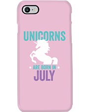 Unicorns Are Born in July Phone Case thumbnail