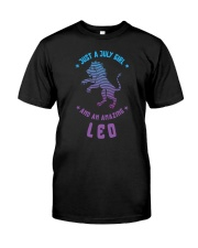 July Girl an Amazing Leo Classic T-Shirt front