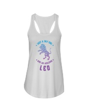 July Girl an Amazing Leo Ladies Flowy Tank thumbnail