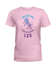 July Girl an Amazing Leo Ladies T-Shirt thumbnail
