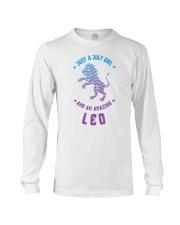 July Girl an Amazing Leo Long Sleeve Tee thumbnail