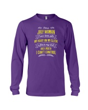 I'm a July Woman Long Sleeve Tee thumbnail