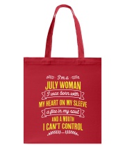 I'm a July Woman Tote Bag thumbnail