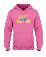 July Girls are Crazy Hooded Sweatshirt thumbnail