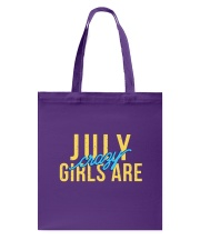 July Girls are Crazy Tote Bag thumbnail
