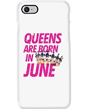 Queens Are Born in June Phone Case thumbnail