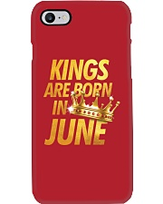 Kings Are Born in June Phone Case thumbnail